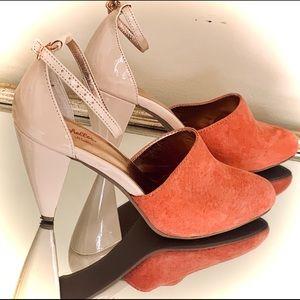 Sexy Seyelles 2 Color Toned 4 inch Heels